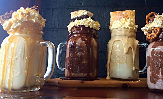 The Aussie café, Pâtissez is currently making waves all around social media for its over-the-top milkshakes just opened a few weeks ago.