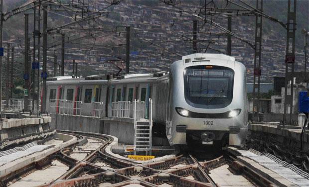 After a long wait, the Versova-Andheri-Ghatkopar Metro Corridor finally started on Sunday (Photo: PTI)