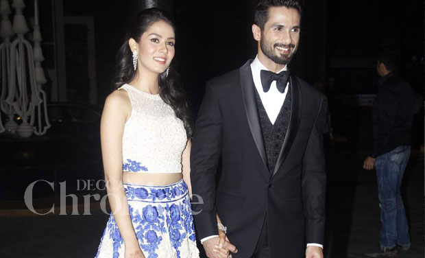 Photos From Shahid And Mira S Bollywood Style Mumbai Reception White Tie Weddings