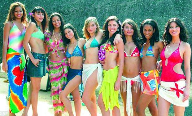 Beauty pageants bikini