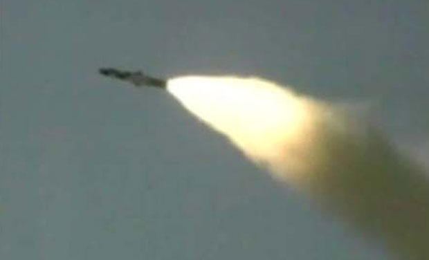 BrahMos missile test-fired from mobile launcher, hits targets with accuracy