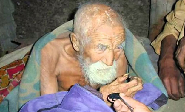 is this 179 year old indian the oldest man alive