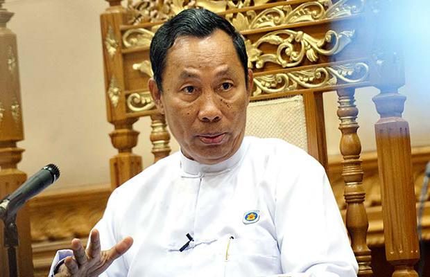 Myanmar Parliamentary Speaker Shwe Mann (Photo: AFP)