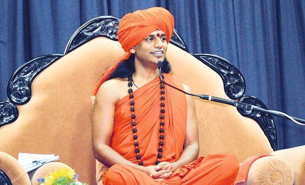 'Sex Guru' Nithyananda made headlines when videos of his sexual acts with women became viral on the Internet. He is facing criminal charges, including rape.