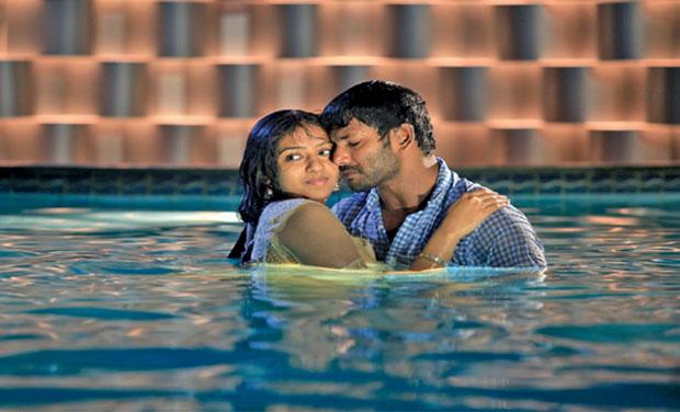 'Naan Sigappu Manithan' inspired by Nirbhaya incident? Naan Sigappu Manithan Lakshmi Menon Kiss