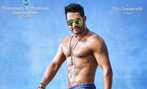 first look jr ntr flaunts chiseled body in temper
