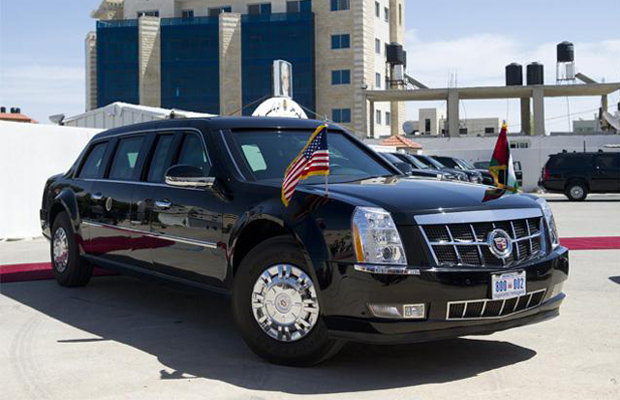 Foreign Affairs Auto >> Armoured 'Beast' in New Delhi for US President Barack Obama's Republic Day ride
