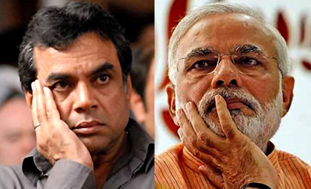 Image result for paresh rawal to modi biopic