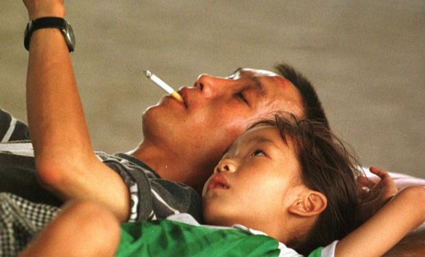 passive smoking irreversibly damages children u0026 39 s arteries