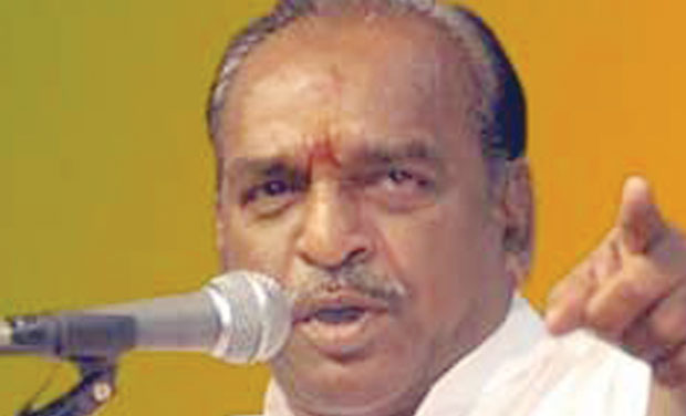 Union minister of state for road transport, highways and shipping, Pon Radhakrishnan