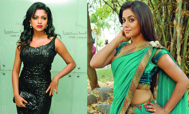 Amala Paul and Poorna
