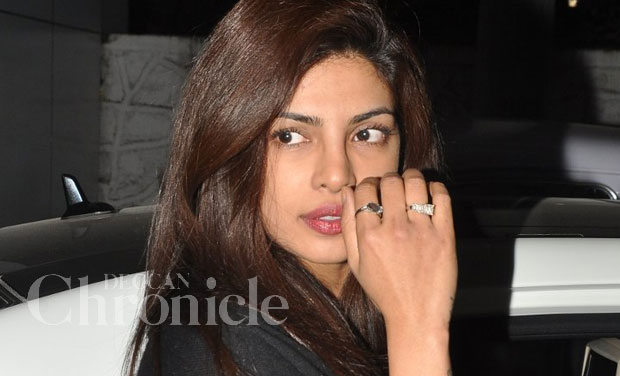 Priyanka Chopra Flashes Huge New Diamond Ring