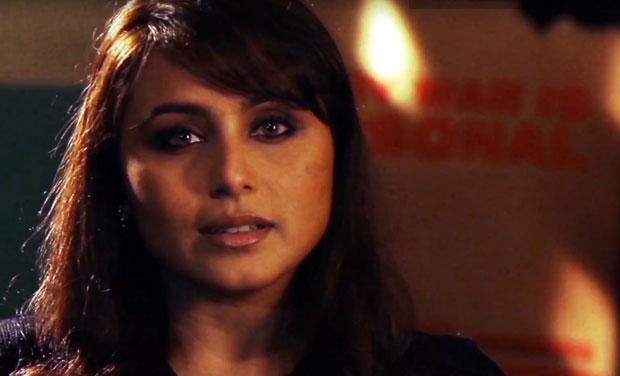Rani Mukerji will be seen playing the role of toughie cop Shivani Shivaji Roy in her next 'Mardaani'. Photo: YouTube/screengrab
