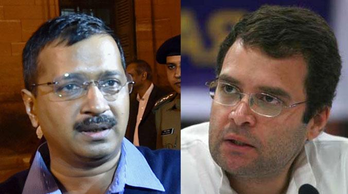 Image result for arvind kejriwal rahul tension