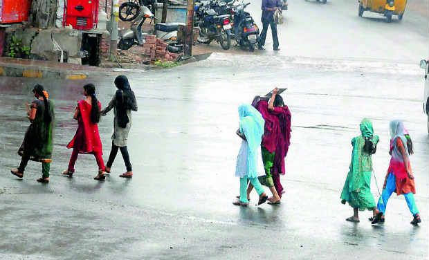 Rain in Hyderabad (Photo: DC archives)