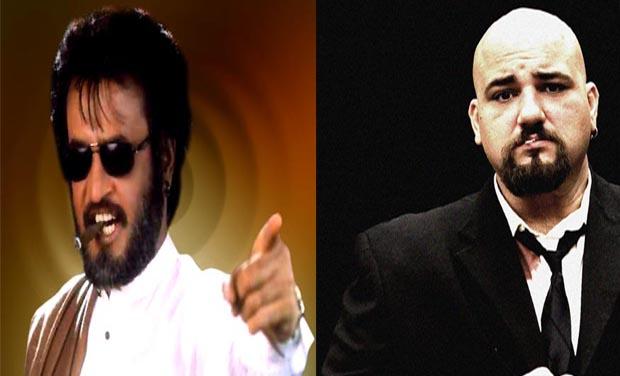 Superstar Rajinikanth and Hollywood director William Orendorff     (Photo: DC)