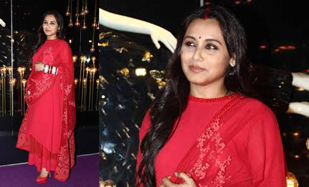 She Looked Gorgeous In A Red Sabyasachi Creation Stuck To Her Tradition And Donned