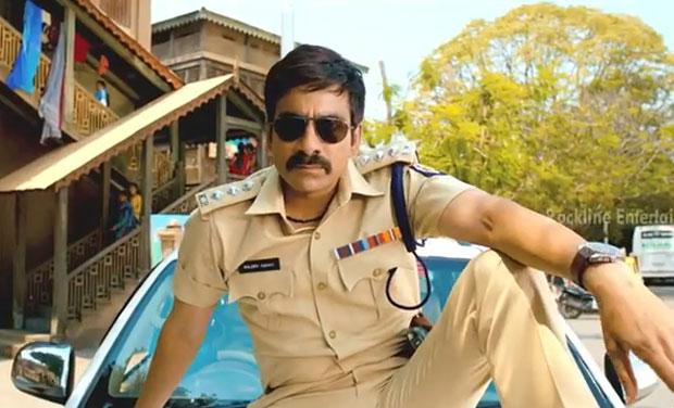 Ravi Teja in a still from 'Power'