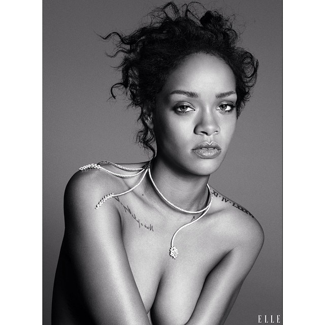 Image result for Rihanna Topless photo