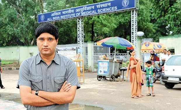 Former Chief Vigilance Officer of AIIMS Sanjiv Chaturvedi (Photo: Twitter)