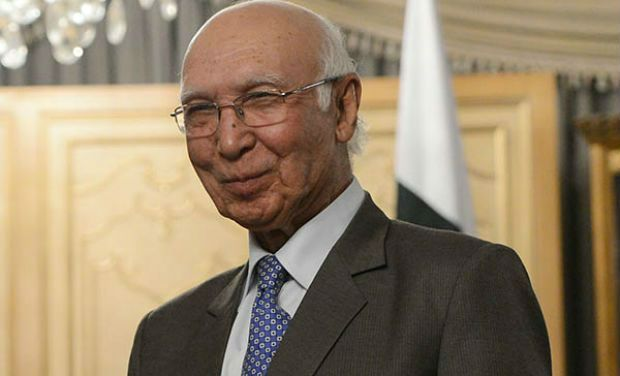 Pakistan Premier's Foreign Affairs Advisor Sartaj Aziz (Photo: AP/File)