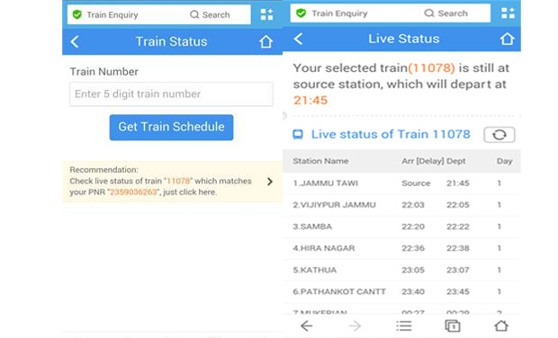 UC Browser launches PNR Status Checker