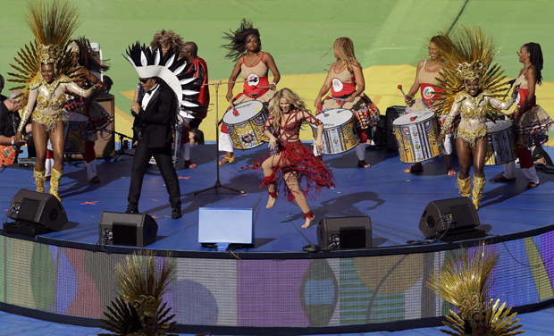 Shakira Sets The Stage On Fire At Fifa Closing Ceremony-3036