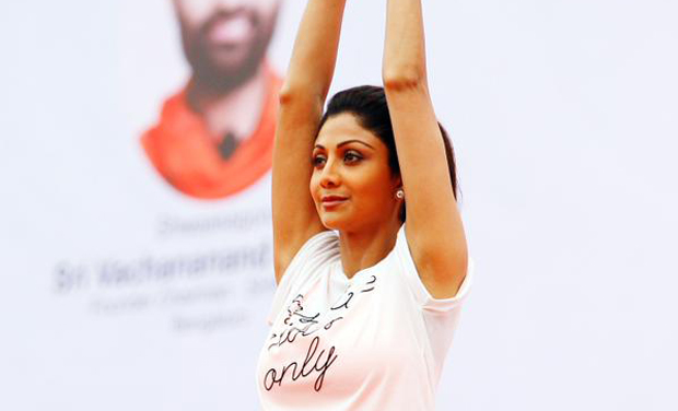 Shilpa Who Demonstrated Vrikshasan And Other Postures Advised Everyone To Practice Yoga For A