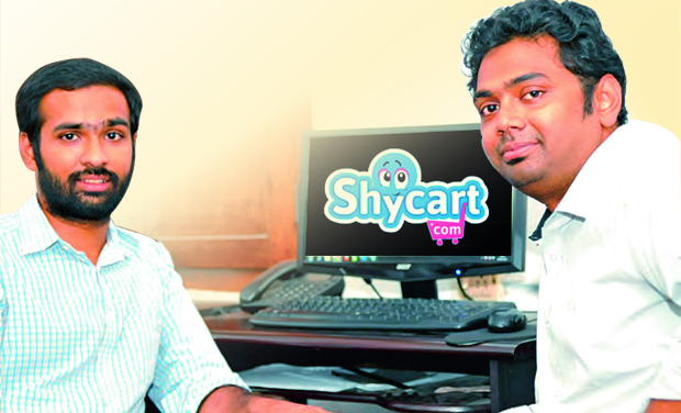 No more shy: Arul and Vivek, the brains behind shycart.com (Photo: DC)