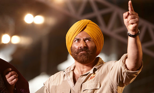 Sunny Deol in a still from 'Singh Saab the Great'