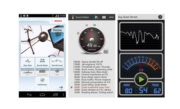 Turn your phone into a sound meter