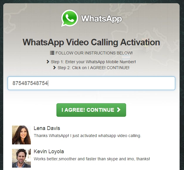 how to call through whatsapp