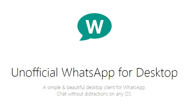 a roman developer by the name of alexandru roianu has developed a thirdparty client for using whatsapp on your desktop the software is available for