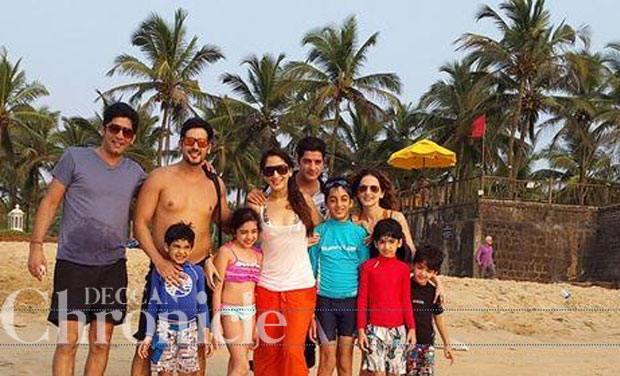 Sussanne Khan Celebrates Diwali With Her Kids In Goa