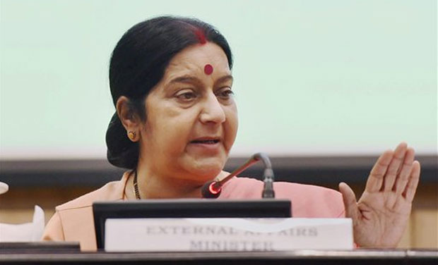 External Affairs Minister Sushma Swaraj. (Photo: PTI/File)