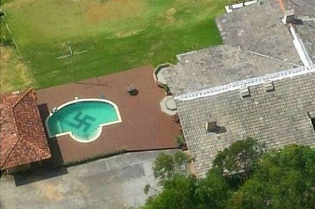 Giant Swastika Spotted In Swimming Pool Of Luxury Mansion In Brazil