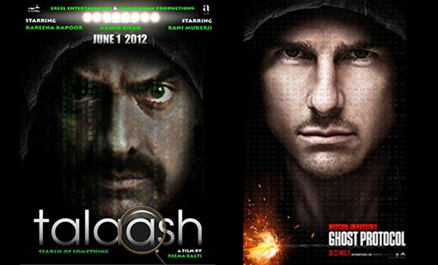 Taalash Movie Poster Resembles Tom Cruises Mission Impossible Well