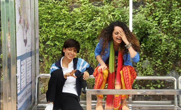 First look: Kangana Ranaut debuts short hair in 'Tanu weds Manu 2'