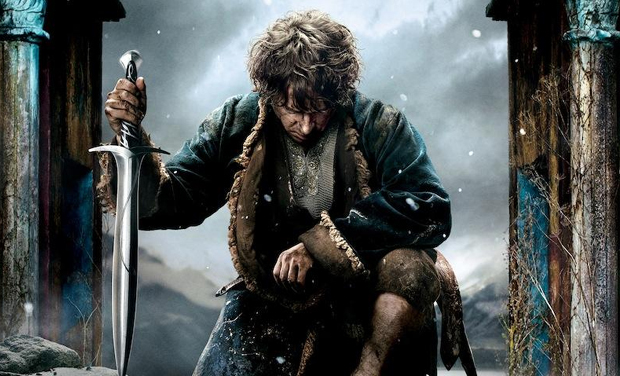 'The Hobbit' The Battle of the Five Armies marks the conclusion of Bilbo Baggins' adventures. Brace yourselves for an action packed ride where they join in a war against an army of combatants from acquiring a kingdom of treasure and incinerating all