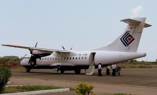 The Trigana Air ATR 42 turboprop plane (Photo: Twitter)