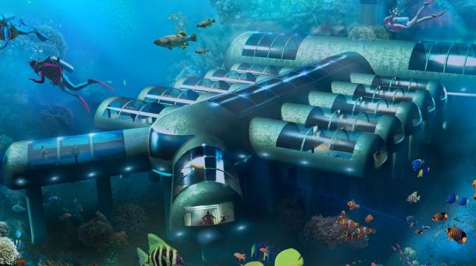 A Luxury Underwater Hotel Project Has Finally Received Patent Approval