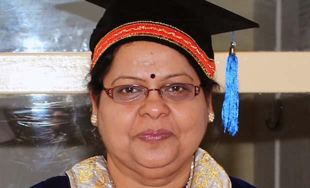 Vice-Chancellor of Jaffna University, Vasanthi Arasaratnam.