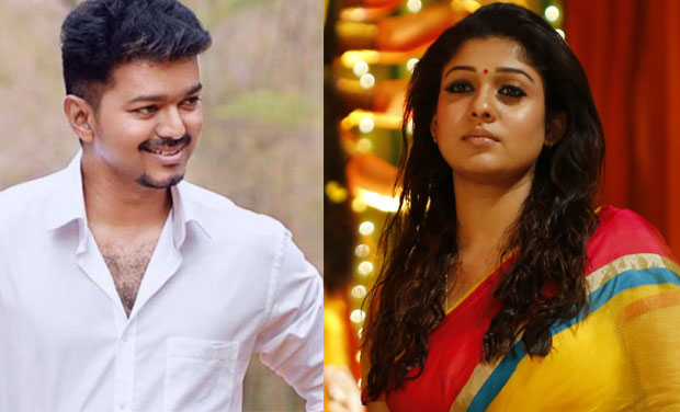 Income Tax Department Raid Houses Of Tamil Actors Vijay And Nayanthara