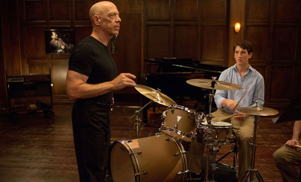 A still from the film 'Whiplash'.