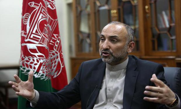 Afghan National Security Adviser Mohammad Hanif Atmar. (Photo: AP)