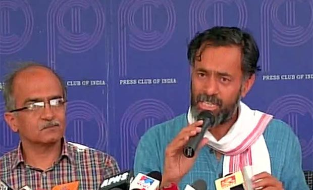 yogendra yadavs article on party system Swaraj india national president yogendra yadav on thursday said bjp is out to murder the aam aadmi party but the arvind kejriwal-led party will suicide before it gets murdered.