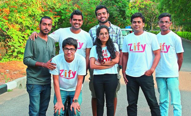 Going global: The team members of Zify. The start-up already has more than 1,50,000 users and they are now launching in New York, London and Dublin