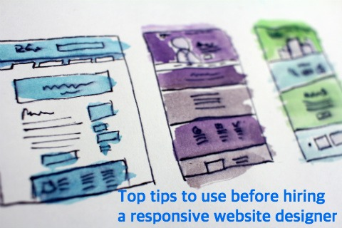 Top tips use before hire Responsive Website Designer in India
