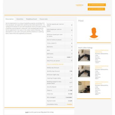 SaffronStays - Hire Creative Responsive Web Design India - Ezeelive Technologies