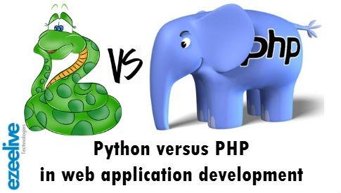 Ezeelive Technologie - Python PHP in Web Application Development